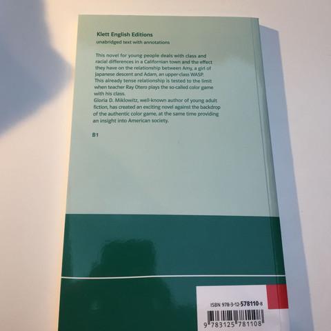 Rückseite  - (deutsch, Buch, Englisch)