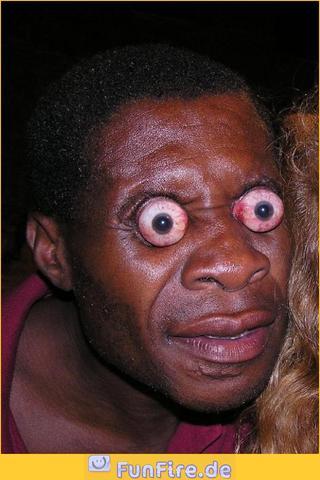 Mensch Mit 3 Augen