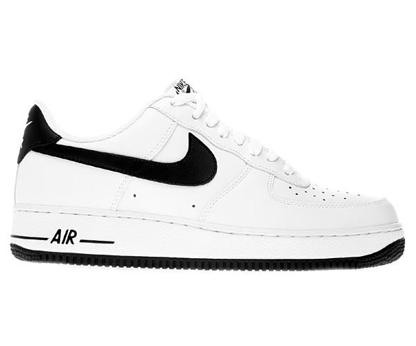 nike air force 1 low schwarz weiß