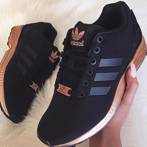 buy online e88ee 8ae10 france adidas zx flux schwarz gold sohle d547b 84f48
