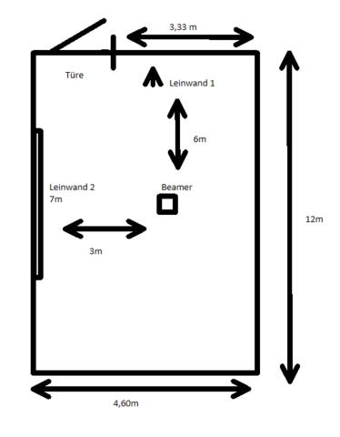Raumplan  - (Beamer, Neubau, Besprechungszimmer)