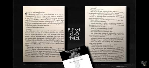 Gibt es ein Death Note Buch?