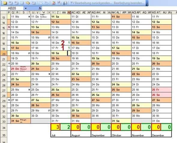 Gibt es eine Excel-Vorlage zur Erstellung einer Verbrauchsstatistik eines oder mehrer einzelner Verbrauchsmaterialien?