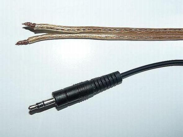 Dieses Kabel in diesen Stecker - (Lautsprecherkabel, Stereo-Kabel)