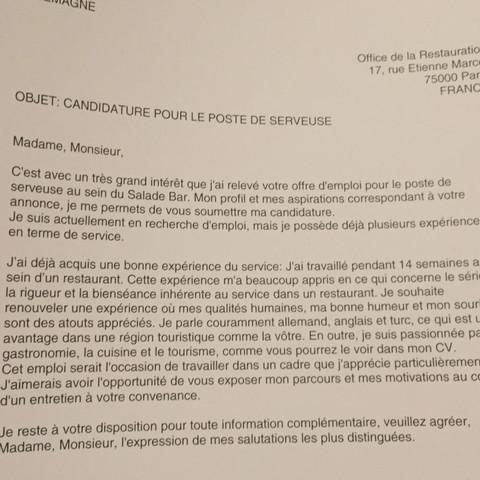 Gibt Es Einen Fehler In Meinem Franzosischen Cv Und Lettre De Motivation Schule Franzosisch Leistungskurs