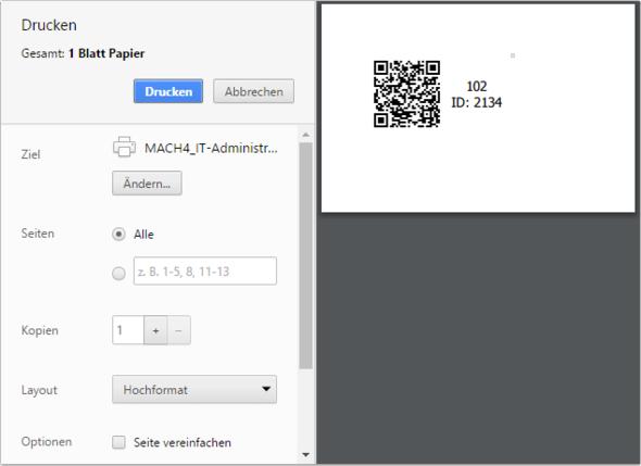 Druckeinstellungen von Chrome - (Drucker, Firefox, Chrome)