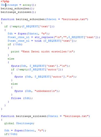 Teil1 von Doc.1 - (programmieren, Programmierung, PHP)