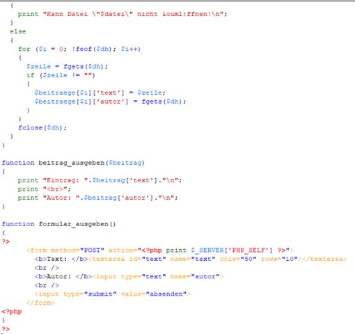 Teil2 von Doc.2 - (programmieren, Programmierung, PHP)