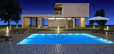 gibt es in deutschland h user mit einem pool ungef hr. Black Bedroom Furniture Sets. Home Design Ideas