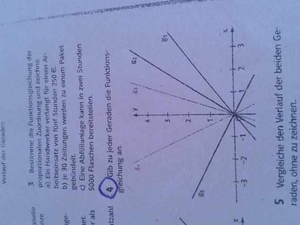 Die Aufgabe 4 - (Schule, Mathematik, Funktion)