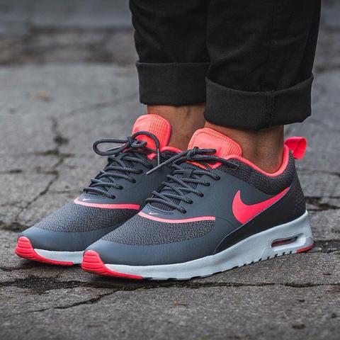 release date 6f484 fafba Das sind die Nike air Max Thea in grau pink - (Nike, Fashion,