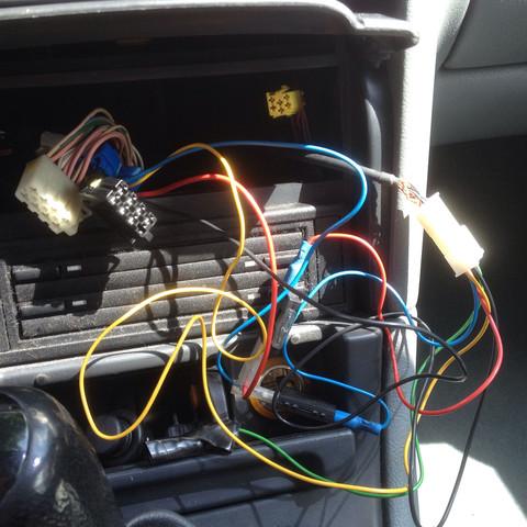 Anschlüsse im Auto  - (Auto, Radio, Musikanlage)