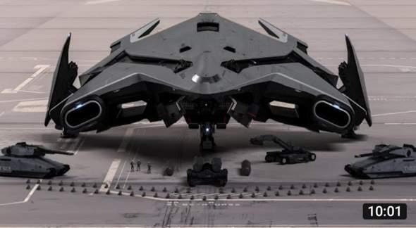 Gibt es solche futuristische Militärtechnologien?
