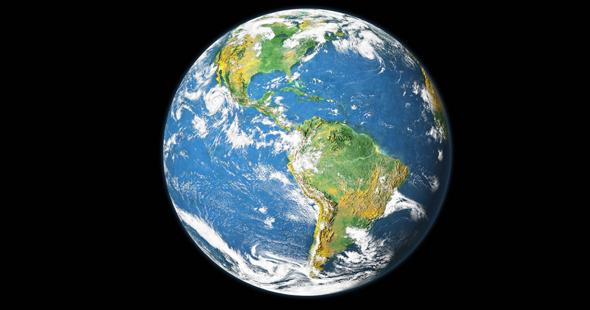 Gibt es wirklich keine echte Aufnahmen von der Erde?