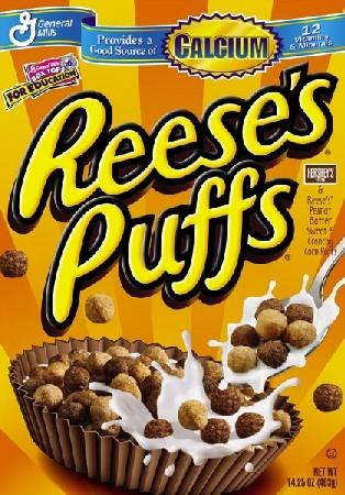 - (reese, Puffs, Cornflakes Handel)