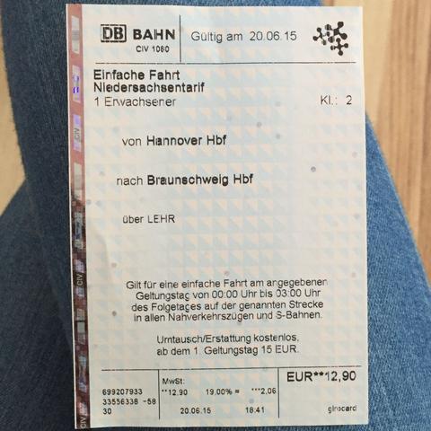 niedersachsen ticket db