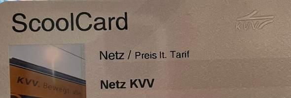 Was für eine BahnCard ist diese Schoolcard?