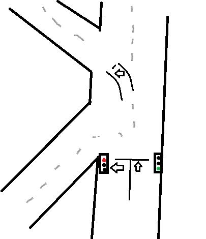 kreuzung - (Auto und Motorrad, Verkehr, Kreuzung)