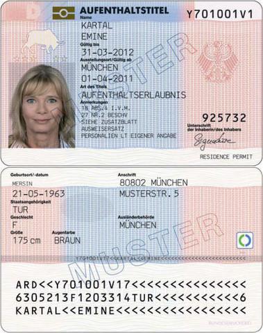 Aufenthaltstitel - (Reise, Reisepass, Abschlussfahrt)