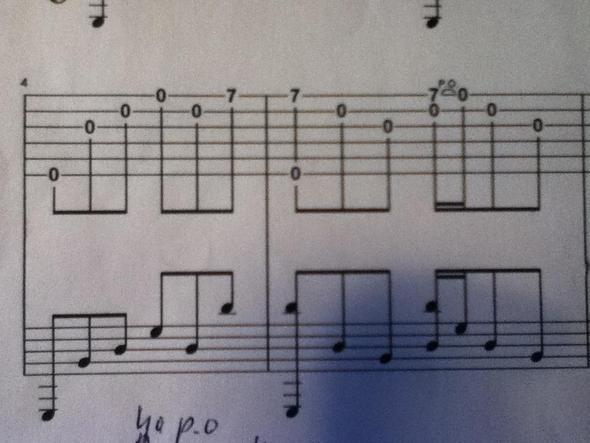 Problem 1 - (Gitarre)