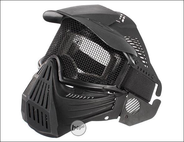 Gitter Vollgesichtsmaske (Airsoft) - (Waffen, Softair, Airsoft)