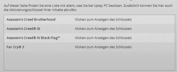 Meine Spiele (AC Black Flag Season Pass nicht Aktiviert) - (PC, Games, Online-Shop)