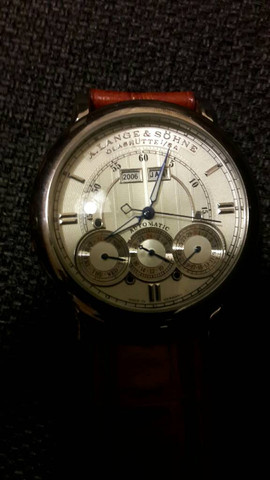 Vorderseite der Uhr  - (Uhr, Armbanduhr, Echtheit)