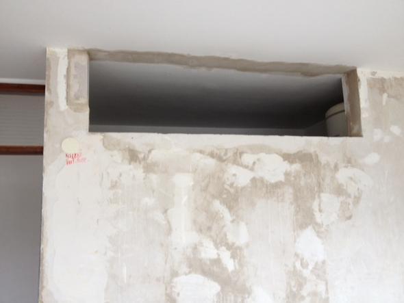 Glasscheibe In Wandausschnitt Einbauen Haus Einbau