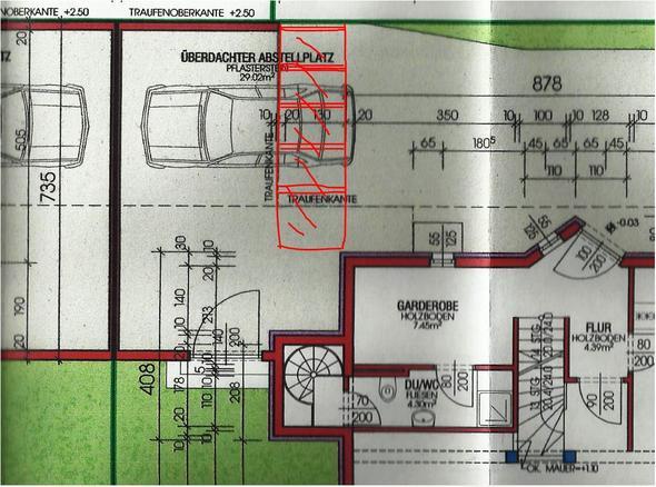 glasvorbau bei carport unterschrift vom nachbar erforderlich nachbarschaft baurecht. Black Bedroom Furniture Sets. Home Design Ideas