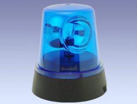 Blaulicht 4,5 V DC mit An/Aus-Schalter - (Elektronik, Klingel, Relais)