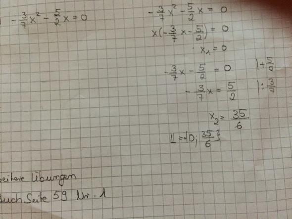 Gleichung - (Mathe, Gleichungen, Gleichung der Form)