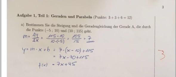 Mathe - (Mathe, Mathematik, gerade)