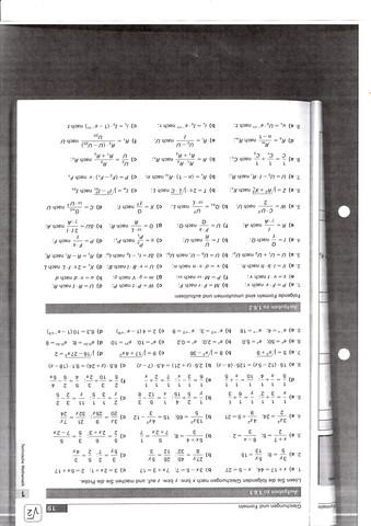 Gleichungen und Formeln - (Schule, Mathematik, lernen)