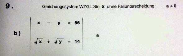x-y - (Mathe, Gleichungssysteme)