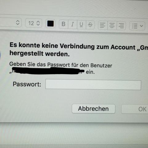 Hat Gmail Probleme mit Apple Mail?