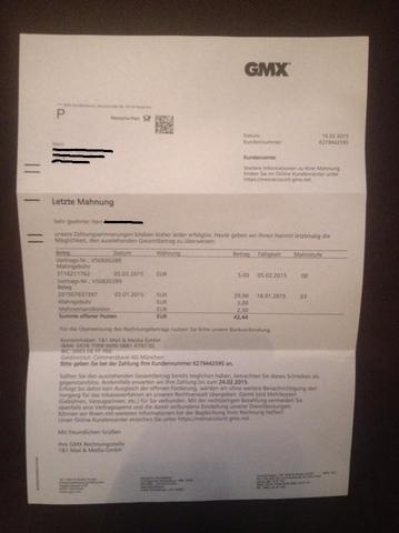 Rechnung - (Betrug, E-Mail, Rechnung)