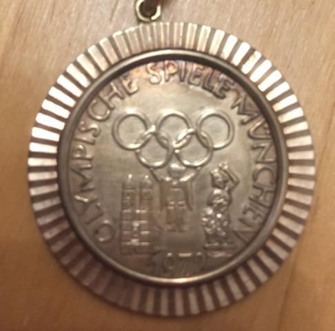 Gold Münze Gefunden Olympische Spiele 1972 München Hat Sie Wert