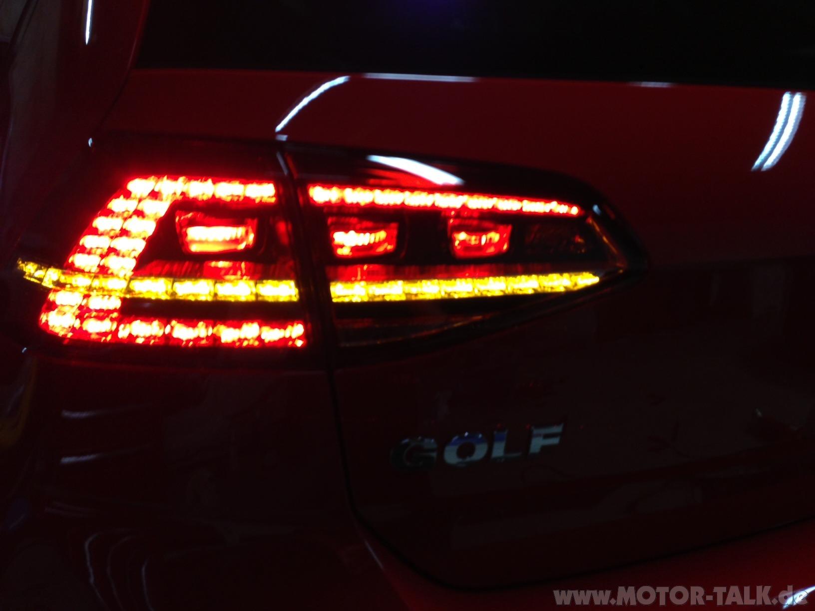 Golf vii (7) led rücklichter und diffusor   auspuff wechseln (kfz ...