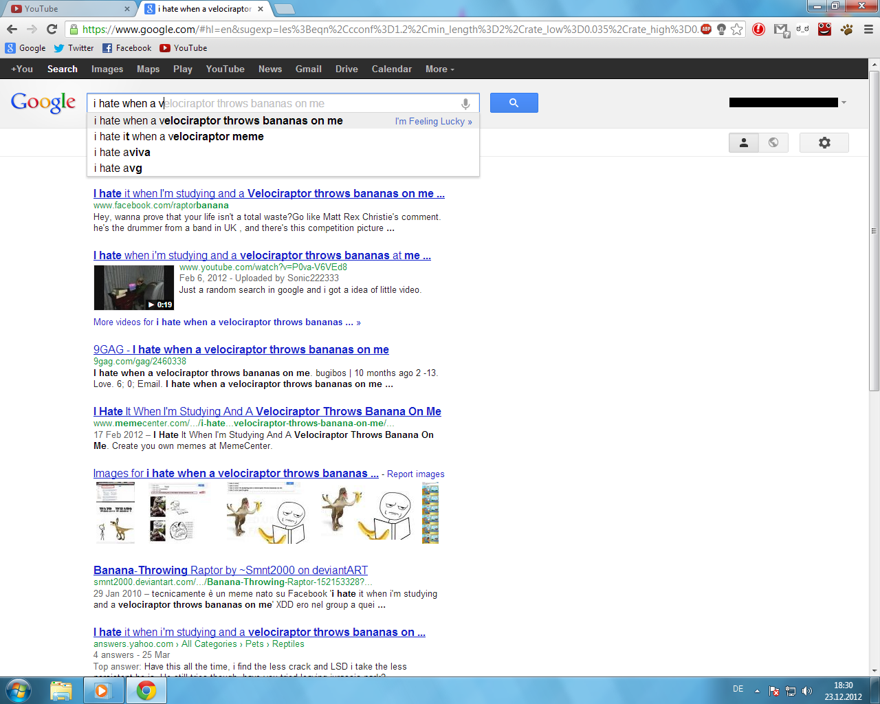 Google Suchvorschläge