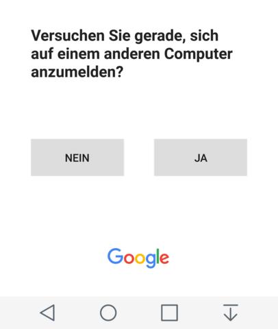 Auf'm Handy - (Handy, Google, Account)