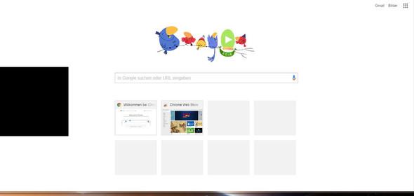 Schwarze Fenster - (Internet, Browser, google-chrome)