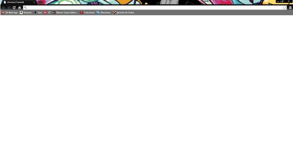 Google Chrome New Tab Wird Nicht Richtig Angezeigt Apps Weiß