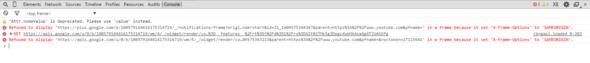 Javascript-Konsole - (Youtube, Google, Java)