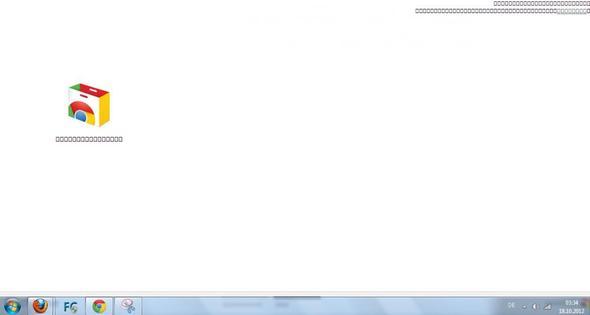 Viereckige schrift help -.-  - (Firefox, google-chrome)