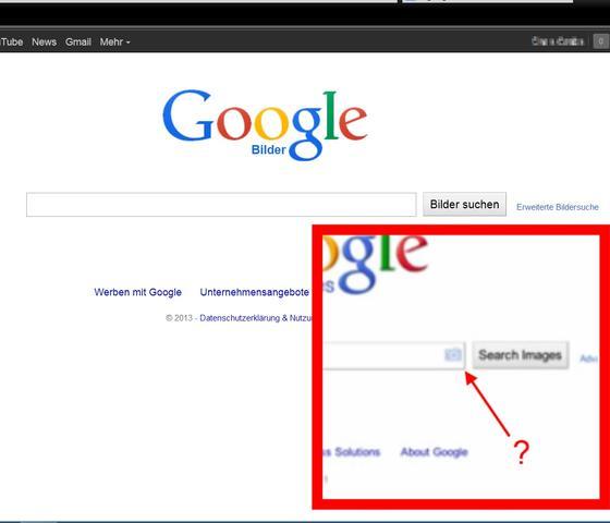 Google Hat Sich Verändert Search By Image Nicht Mehr Vorhanden