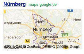 Google Maps - Nuernberg - (Google, Maps, Google Earth)