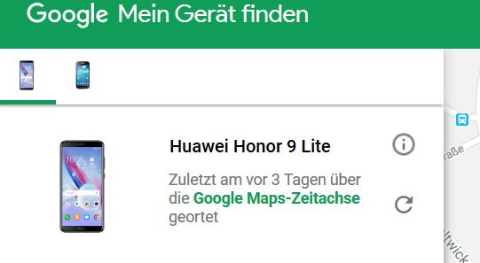 Google Finde Mein Gerät