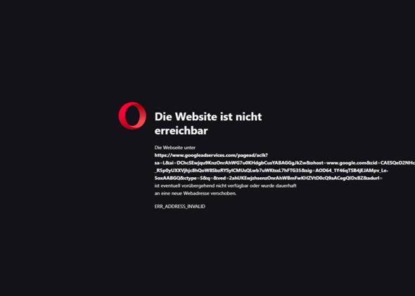 Browser öffnet Keine Seiten Außer Google