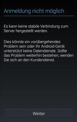 Google Play Store Anmeldung Funktioniert Nicht