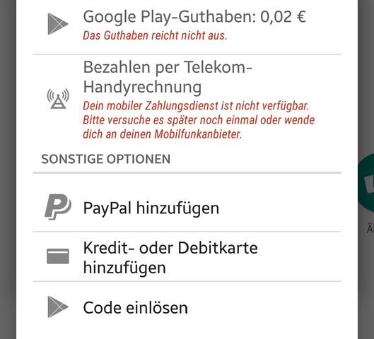 Hier: - (Handy, Google, Play Store)